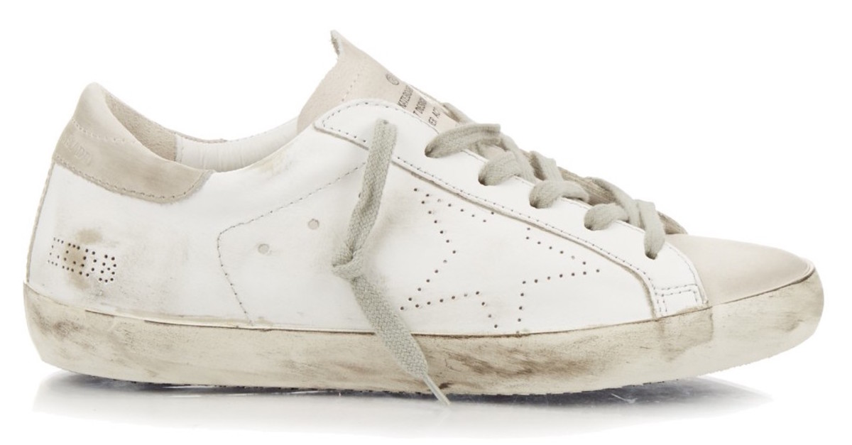 Golden Goose Super Stars, $305, available at matchesfashion.com.