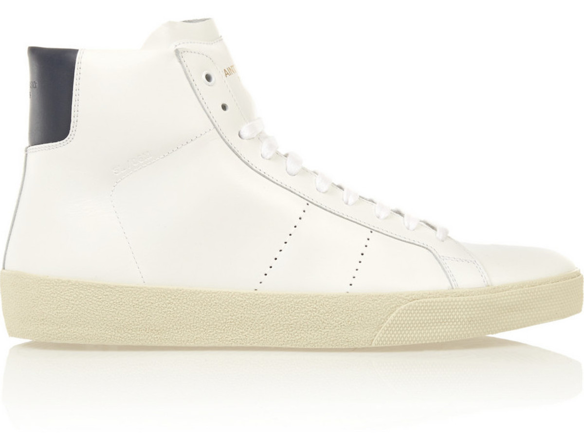 Saint Laurent court classic sneakers, $595, available at Net-a-Porter.