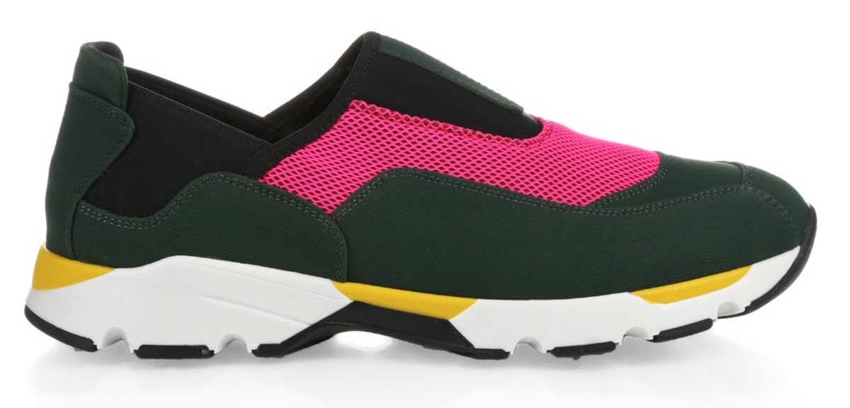 Marni neoprene slip-ons, $420, available at matchesfashion.com.