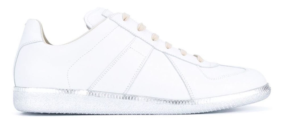 "Margiela ""Replica"" sneakers, $695, available at Farfetch."