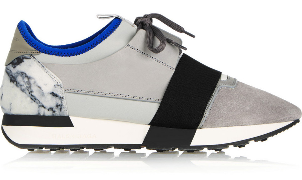 Balenciaga Race Runner, $655, available at Net-a-Porter.