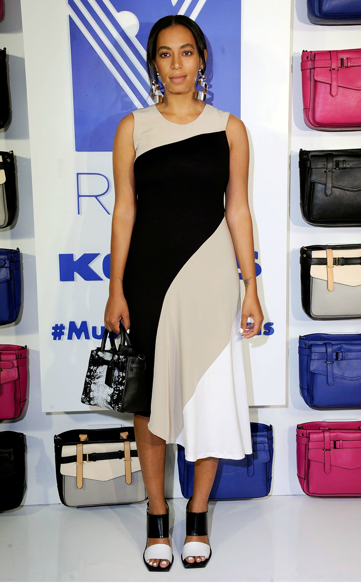 Solange Knowles at the REED x Kohl's collection launch dinner on Wednesday in New York City. Photo: Rabbani and Solimene Photography/Getty Images