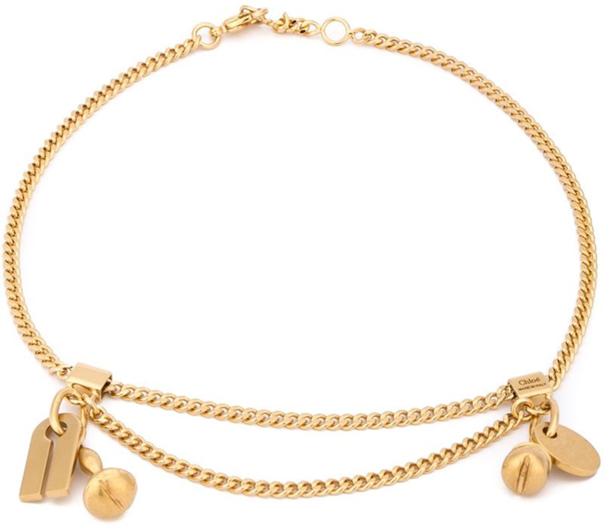 "Chloé ""Janis"" Anklet, $298.05, available at Farfetch.com."