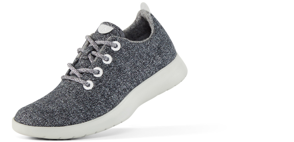 Allbirds launched last month with a $95 Wool Runner sneaker for men and women. Photo: Allbirds