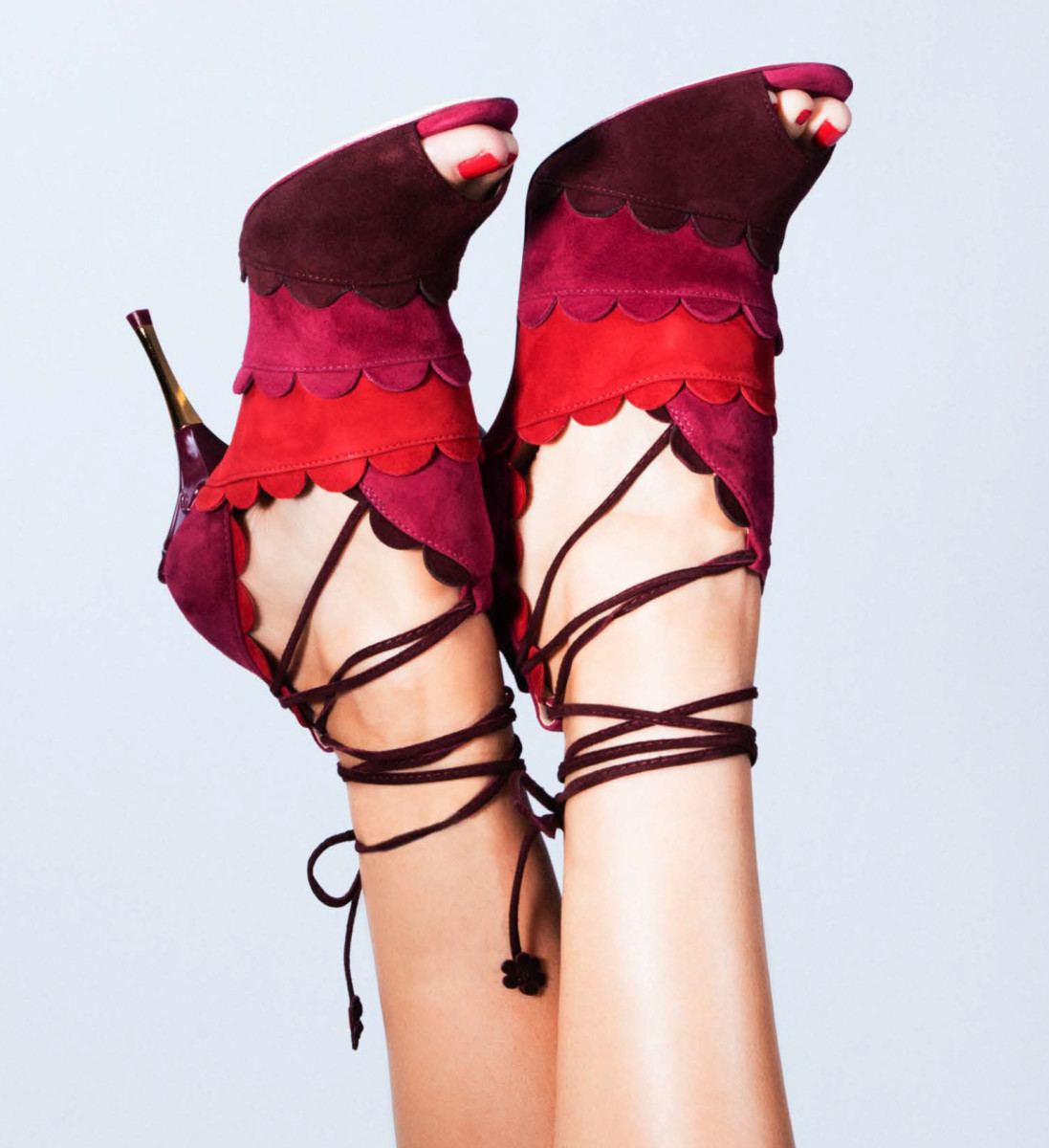 Shoes from Isa Tapia's fall 2016 collection. Photo: Isa Tapia