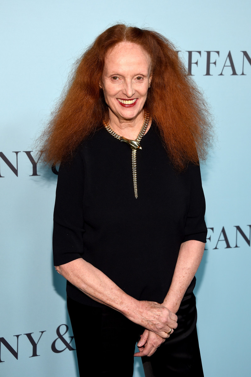 Grace Coddington. Photo: Dimitrios Kambouris/Getty Images