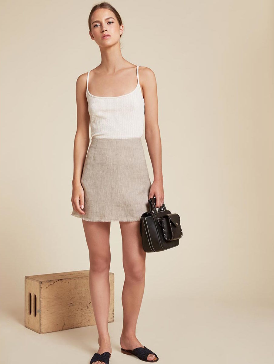 Reformation Fifi skirt, $98, available at Reformation.