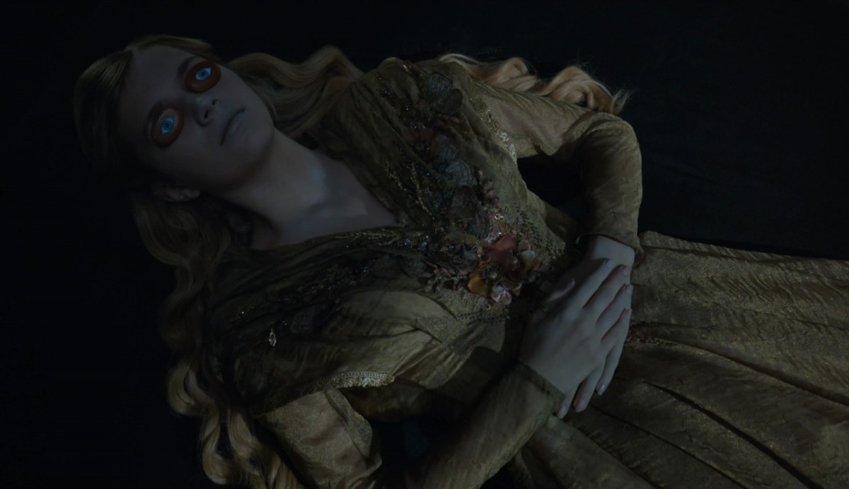 Poor Myrcella in her gold shroud. Photo: HBO