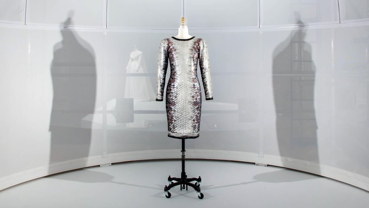 Yves Saint Laurent spring/summer 1983 haute couture dress. Photo: The Metropolitan Museum of Art