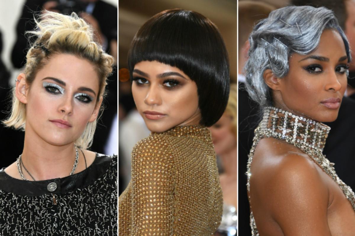Kristen Stewart, Zendaya and Ciara. Photos: Larry Busacca/Getty Images