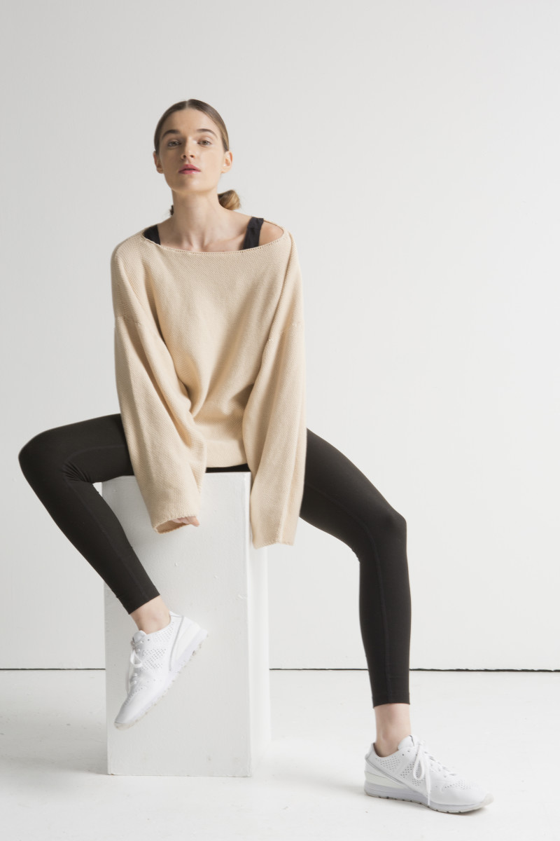 A cozy activewear look from Girlfriend Collective. Photo: Courtesy Girlfriend Collective