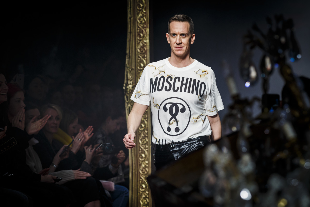 Jeremy Scott at Milan Fashion Week. Photo: Tristan Fewings/Getty Images