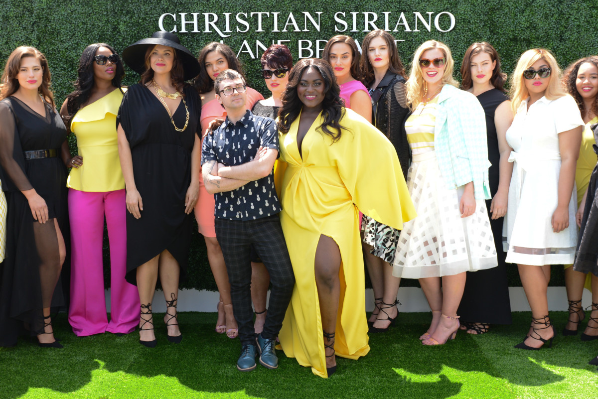Christian Siriano after his runway show at the UN. Photo: BFA/Courtesy