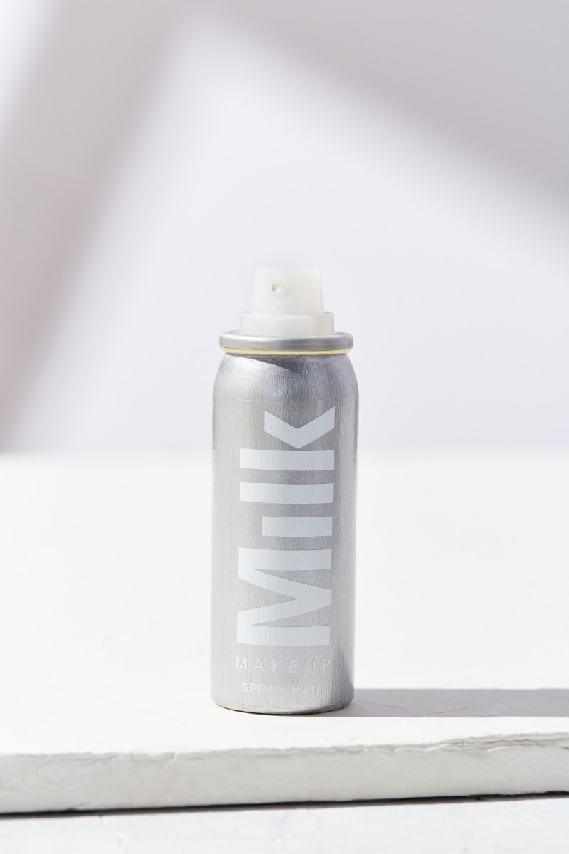 Milk Makeup spray nail. Photo: Beth Shapouri