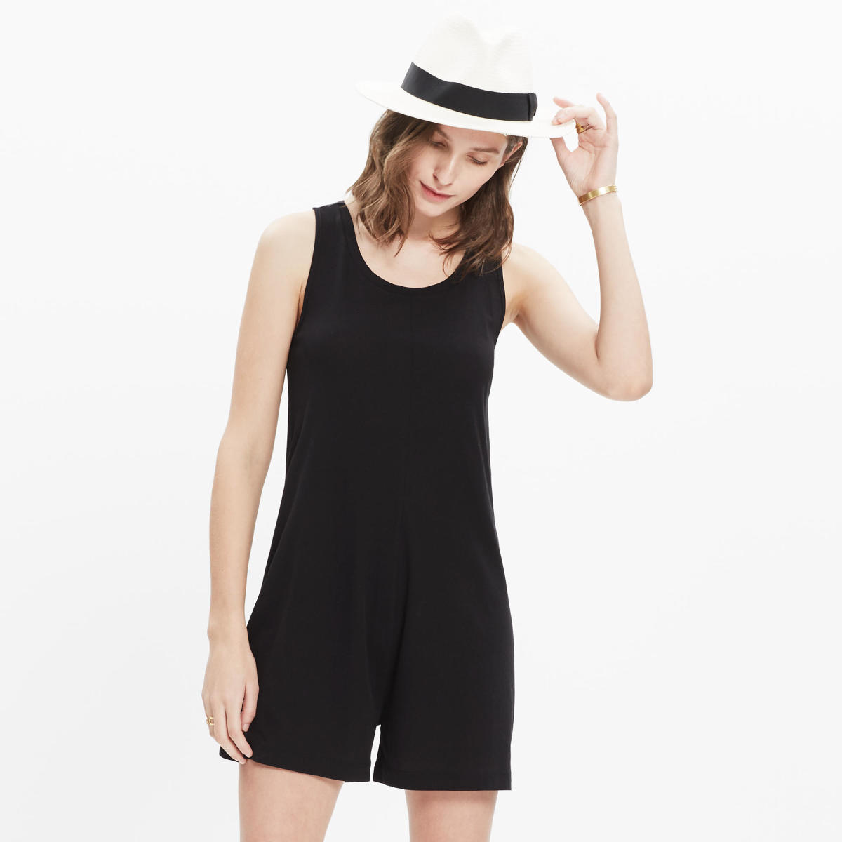 Madewell Jersey Romper, $85, available at Madewell.com.