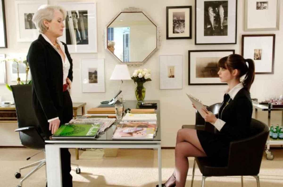"""The Devil Wears Prada'""starring Meryl Streep and Anne Hathaway. Photo: 20th Century Fox."