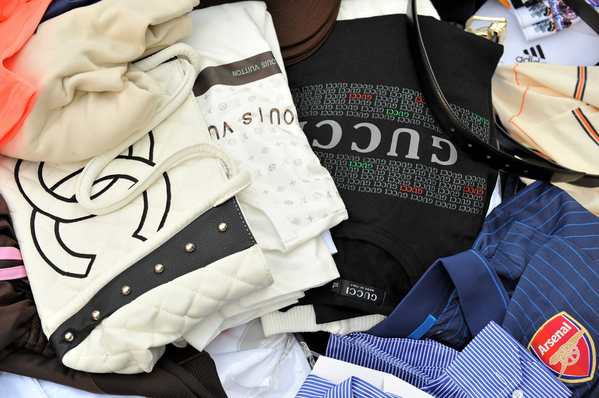 Counterfeit goods. Photo: Pascal Le Segretain/Getty Images