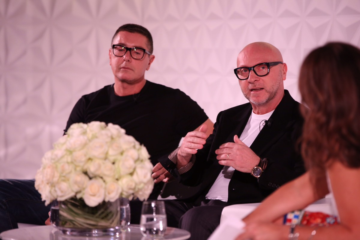 Stefano Gabbana and Domenico Dolce. Photo: Darren Gerrish/Vogue UK