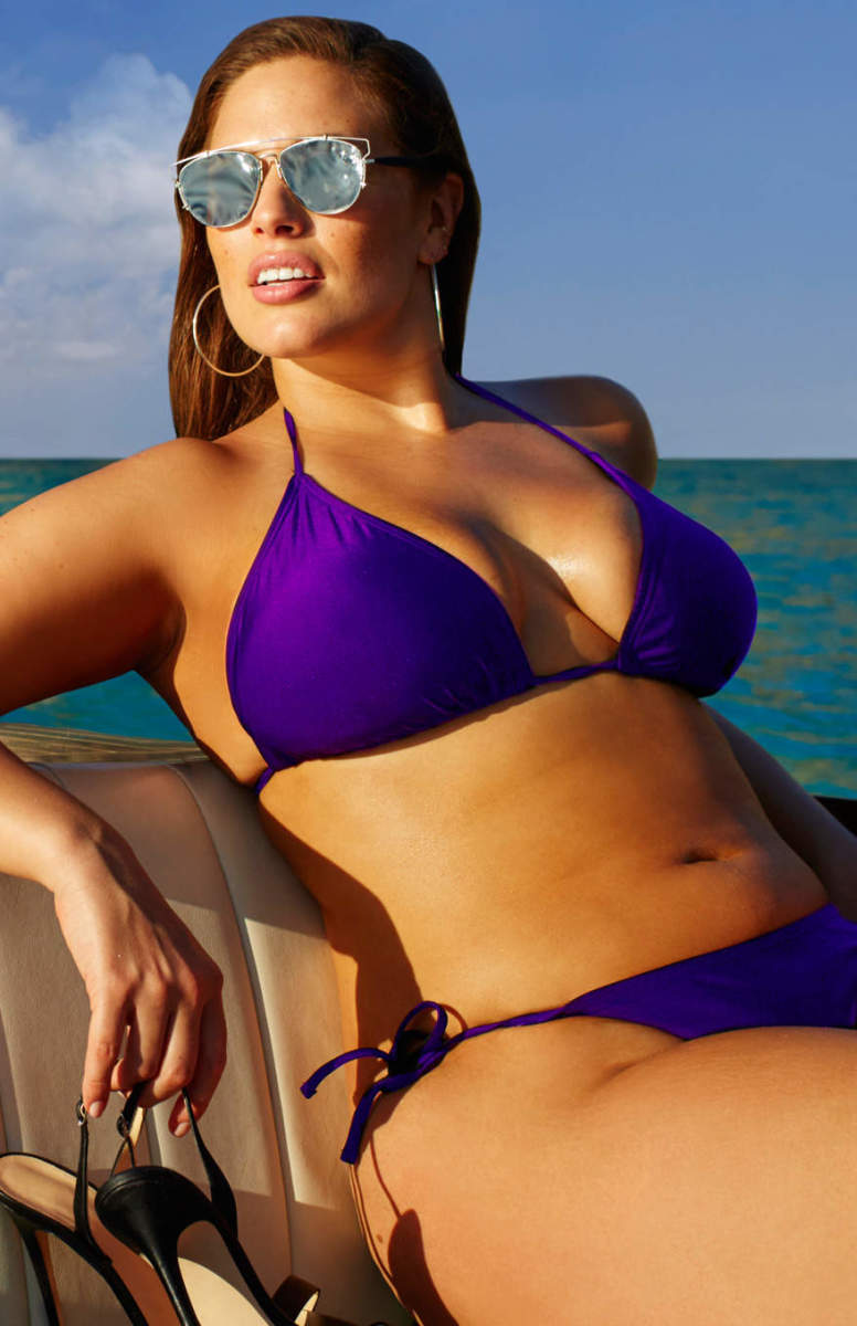 Ashley Graham x Swimsuitsforall. Photo: Swimsuitsforall