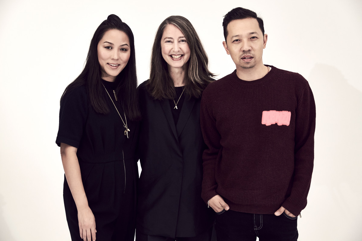 Carol Lim, Ann-Sofie Johansson and Humberto Leon. Photo: H&M