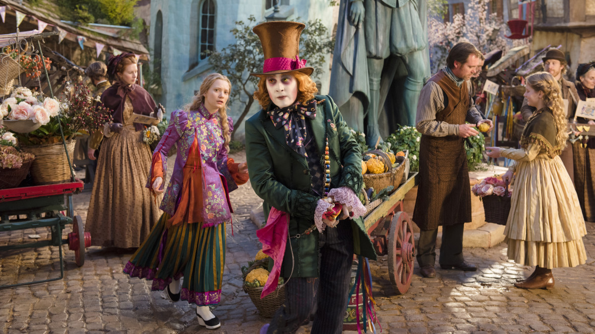 """""""Alice Through the Looking Glass"""" hits theaters Friday. Photo: Disney"""