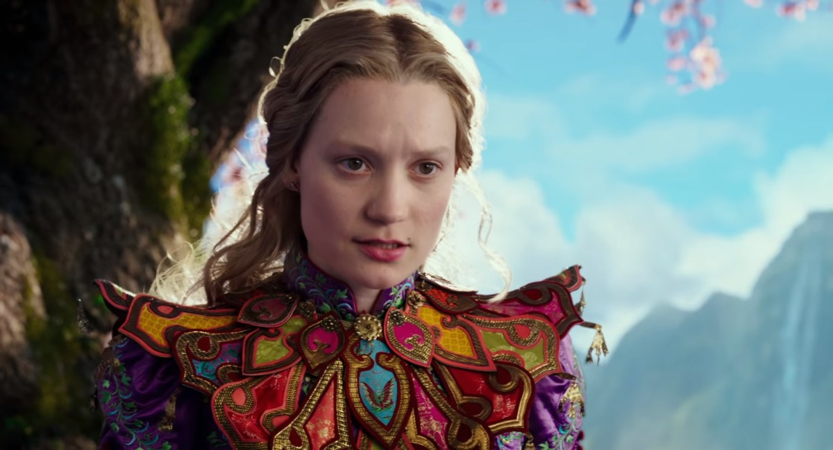 """Alice in """"Alice Through the Looking Glass."""" Photo: Disney"""