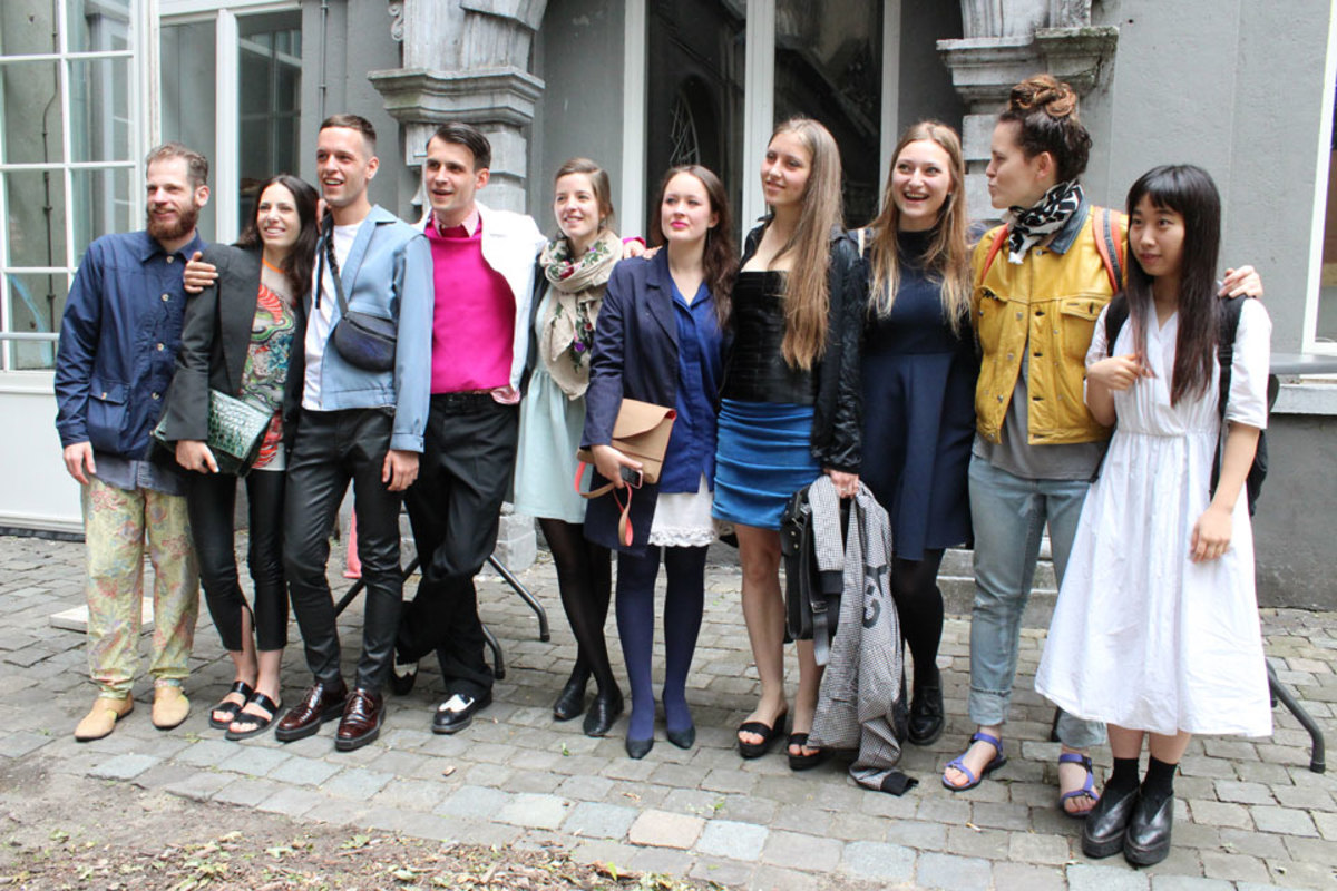 Antwerp students from the class of 2014. Photo: Courtesy
