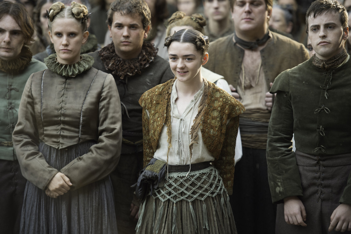 Not the face of a girl who has no name. Photo: HBO