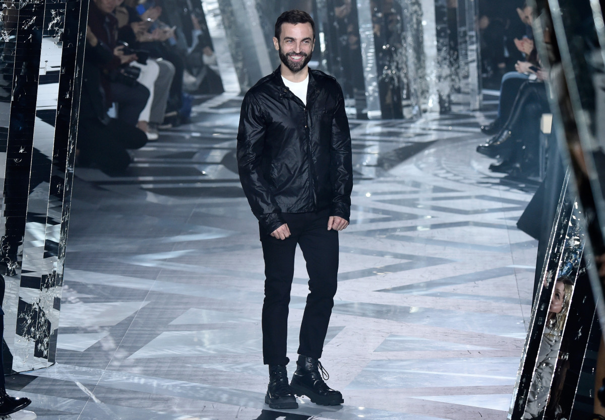Nicolas Ghesquiere at the Louis Vuitton fall 2016 show in Paris. Photo: Pascal Le Segretain/Getty Images