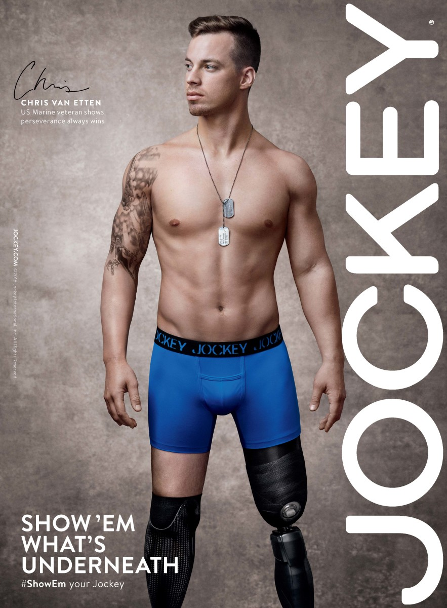 "Campaign image from Jockey's ""Show 'Em What's Underneath."" Photo: Jockey"