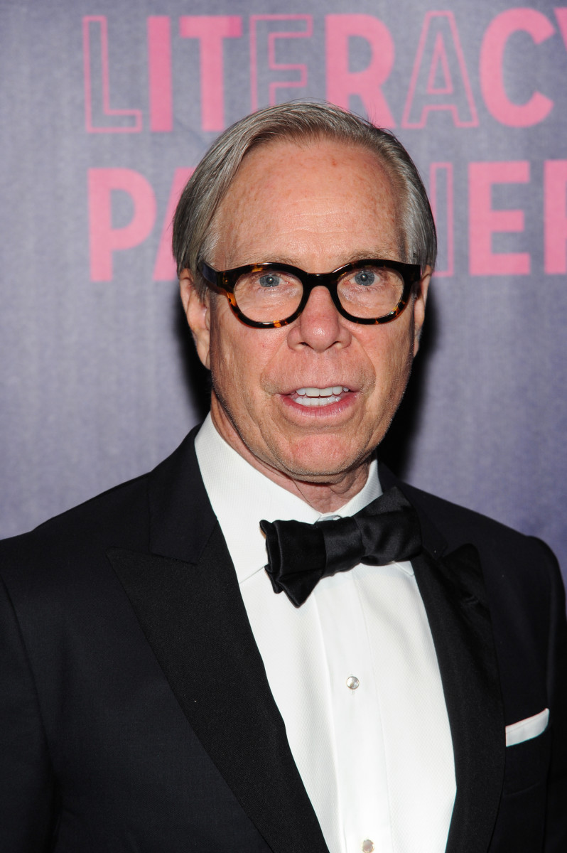 Tommy Hilfiger at the Literacy Partners Gala in New York City. Photo: Rommel Demano / Getty Images