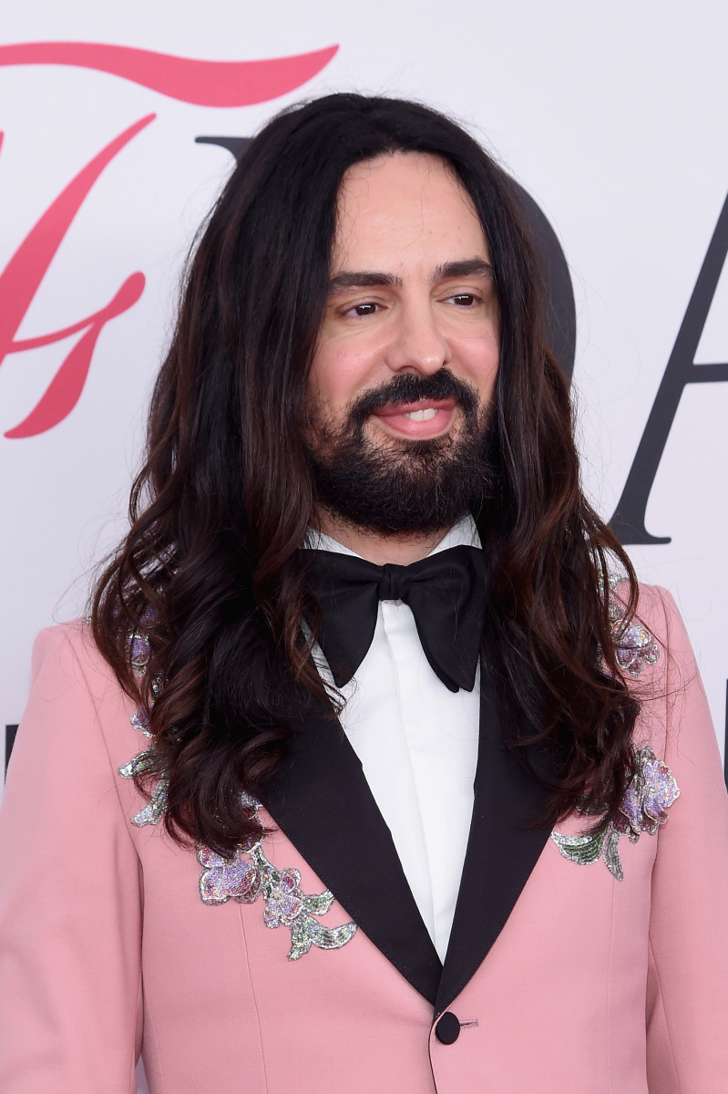 Gucci's Alessandro Michele at the CFDA Awards. Photo: Jamie McCarthy/Getty