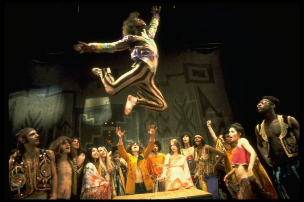 "A scene from the Broadway production of the musical ""Hair."" Photo: Billy Rose Theatre Division, The New York Public Library."
