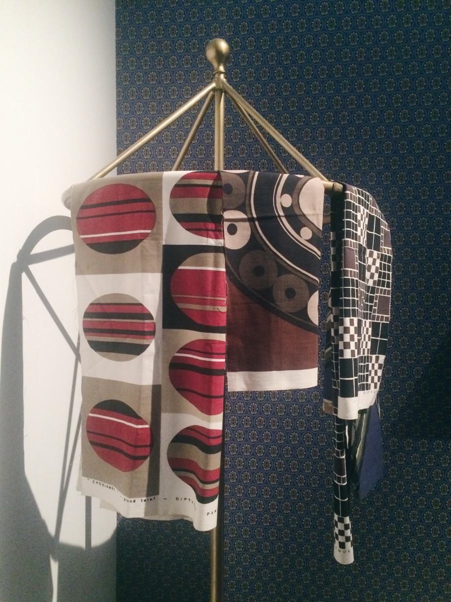 Textile inspiration. Photo: Karina Hoshikawa