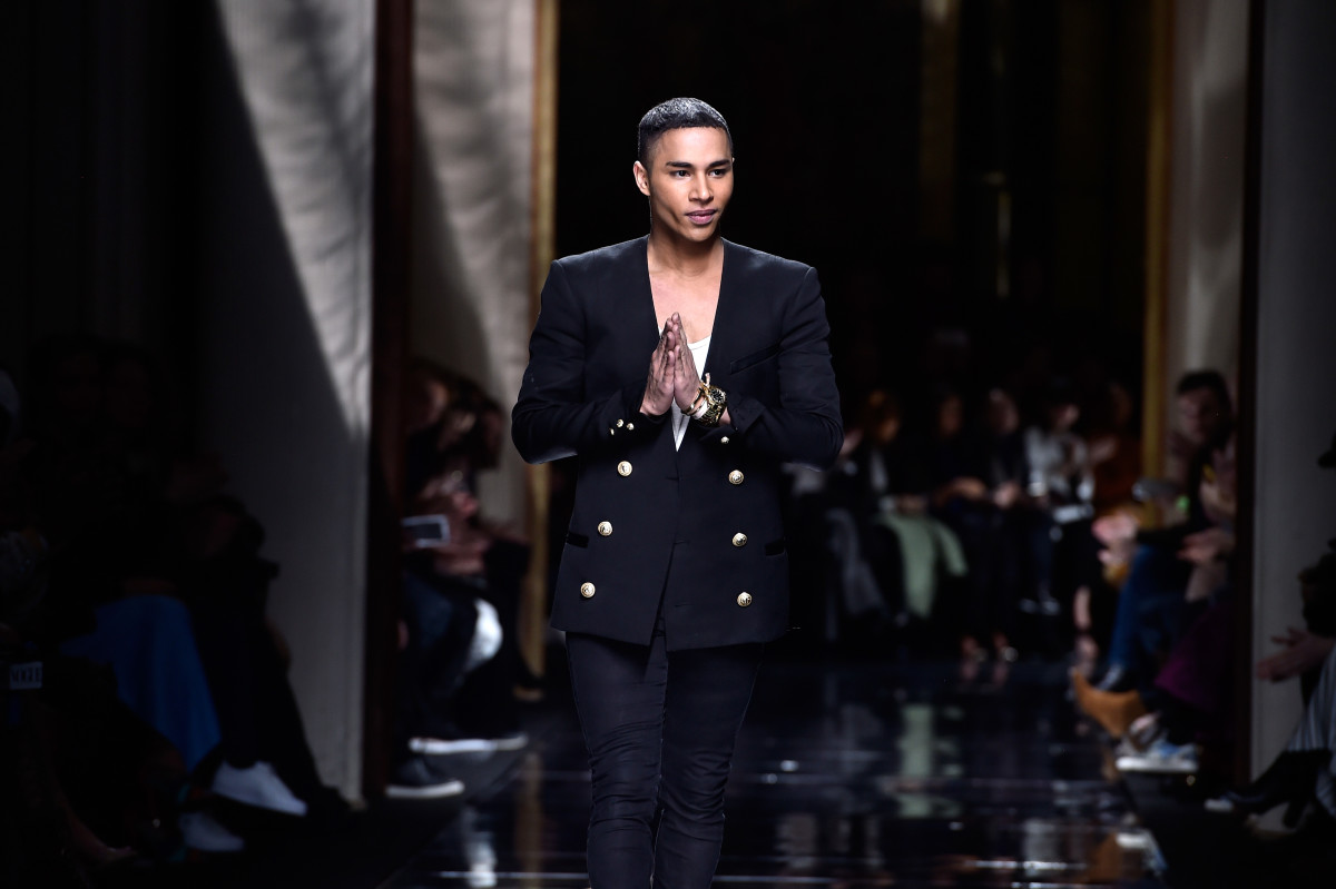 Olivier Rousteing. Photo: Pascal Le Segretain/Getty Images