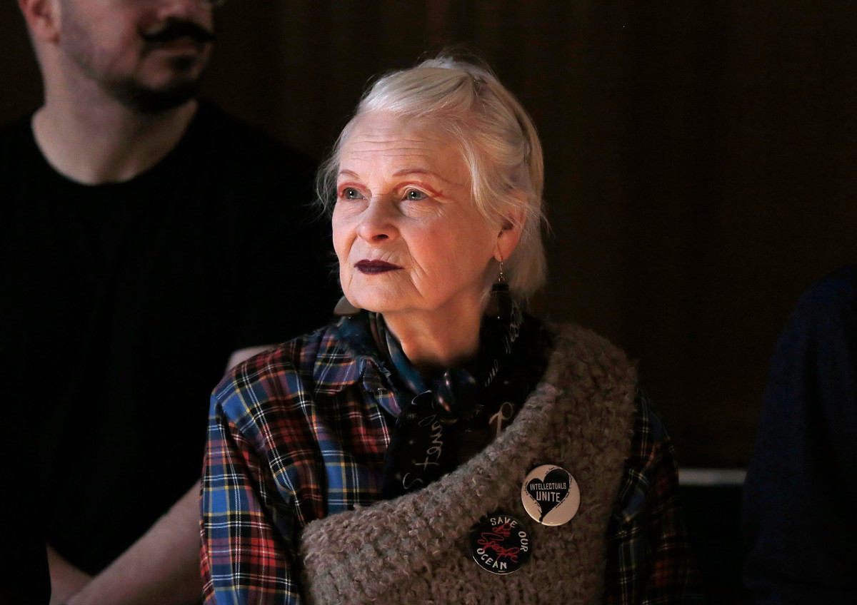 Vivienne Westwood. Photo: John Phillips/Getty Images