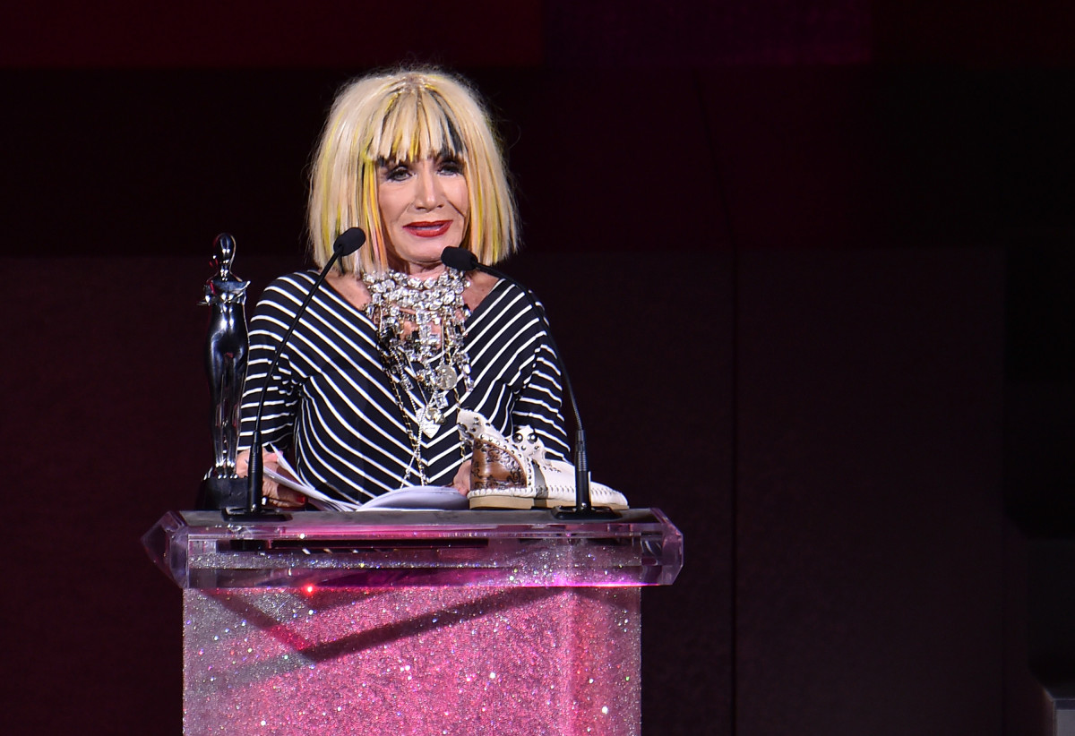 Betsey Johnson. Photo: Michael Loccisano/Getty Images