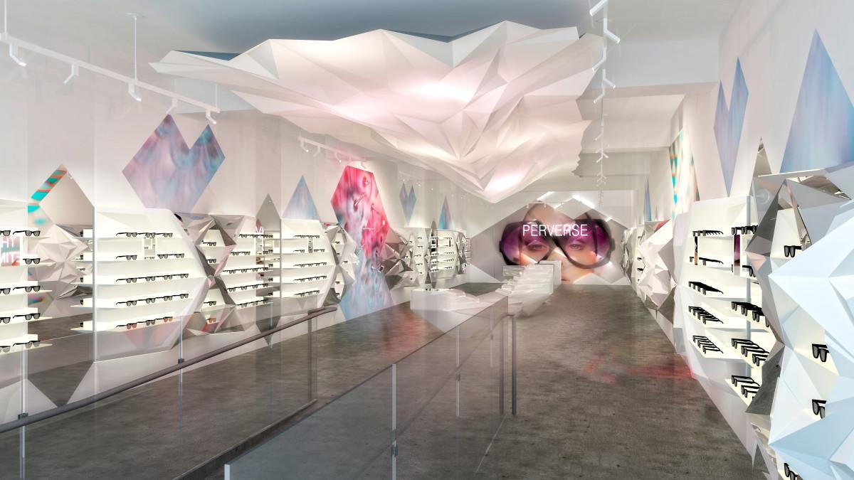 A Perverse Sunglasses store. Photo: Perverse