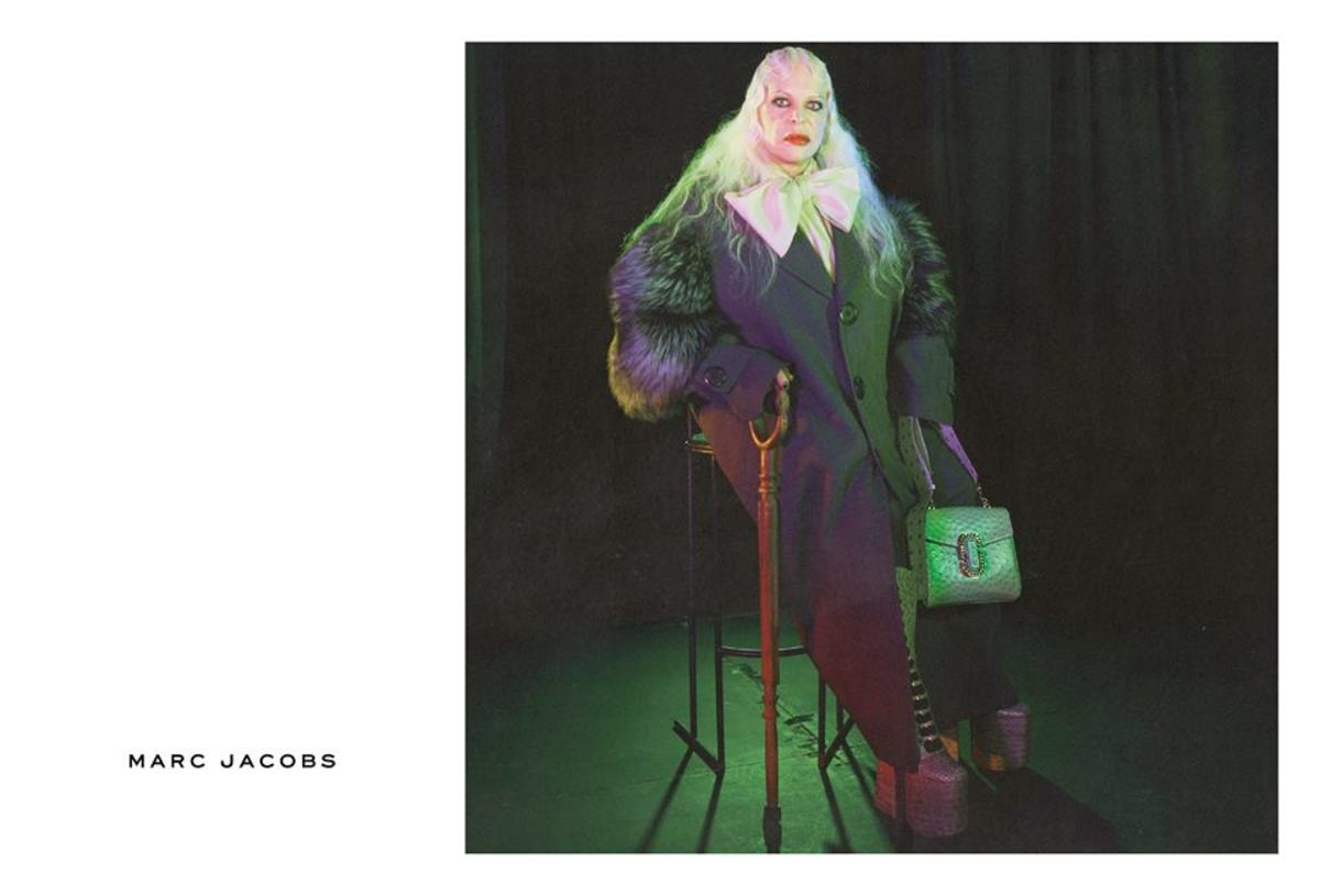 Genesis Breyer P-Orridge for Marc Jacobs. Photo: Marc Jacobs