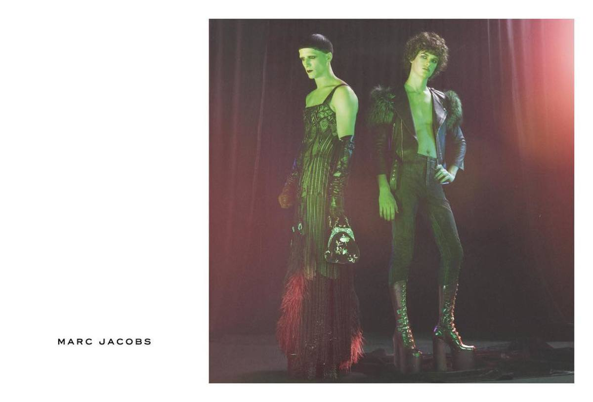 John and Carlos for Marc Jacobs. Photo: Marc Jacobs