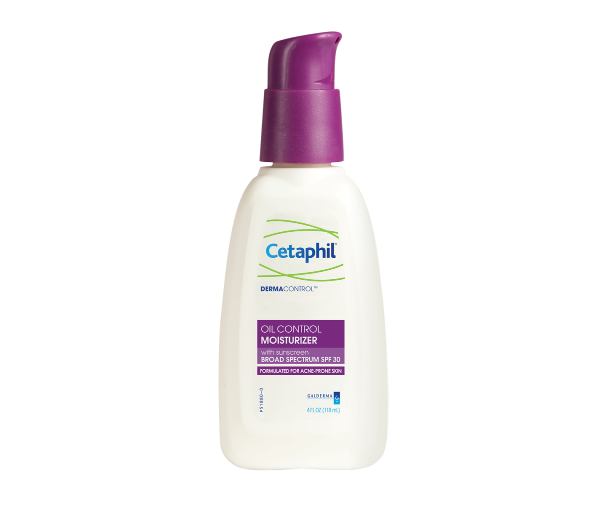 This stuff rocks. Cetaphil DermaControl Oil Control Moisturizer SPF 30, $19, available at Ulta