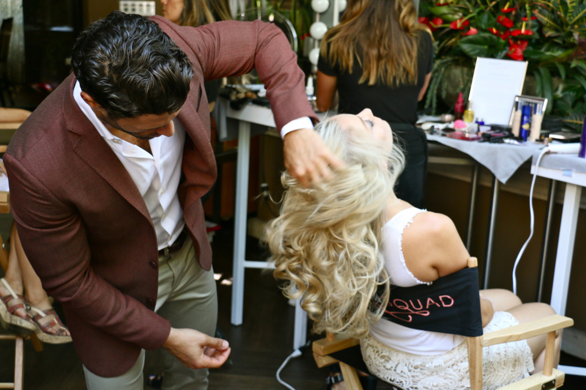 Glamsquad in action. Photo: Glamsquad