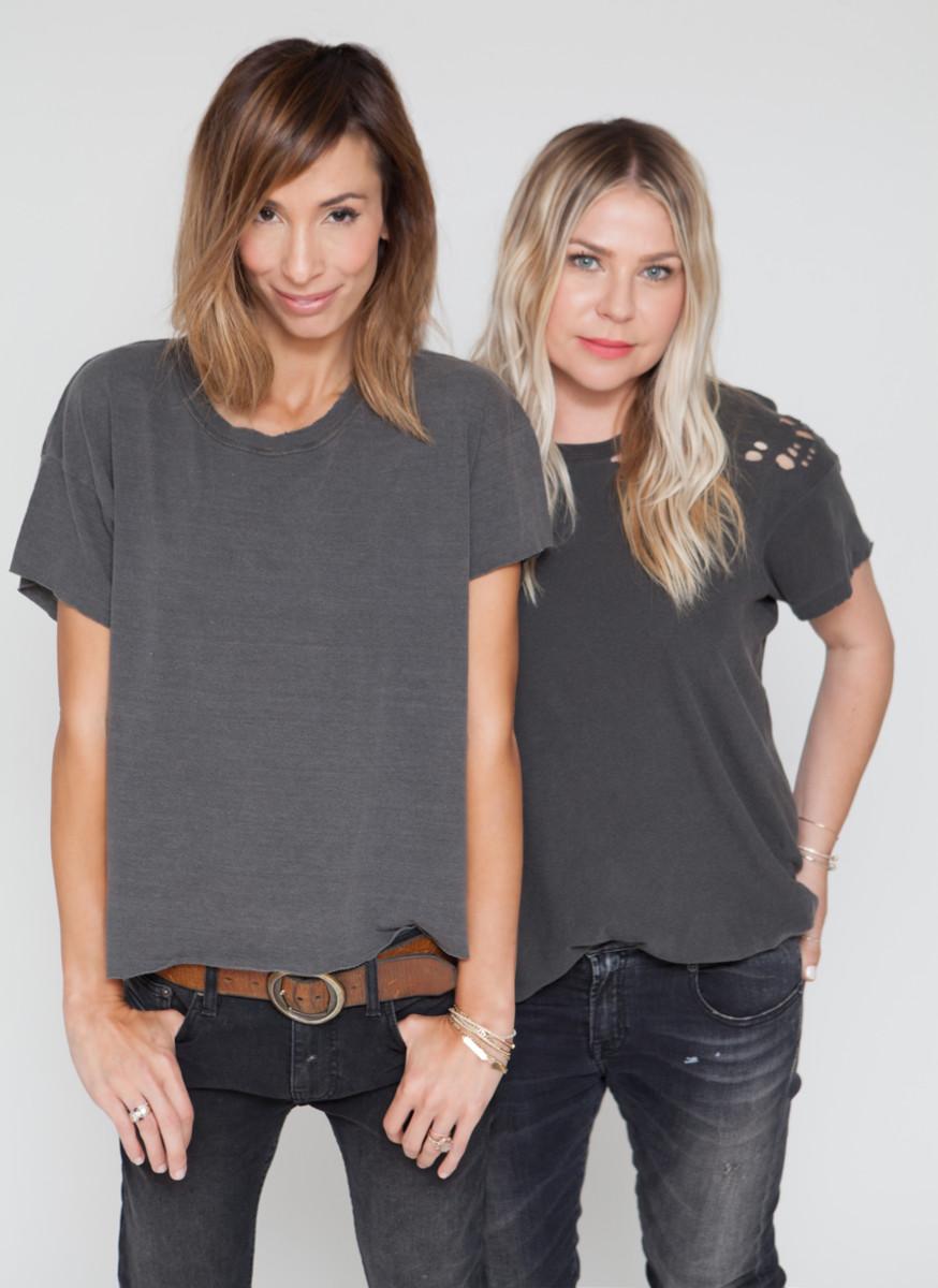 Photo: Meritt Elliott (left) and Emily Current (right)