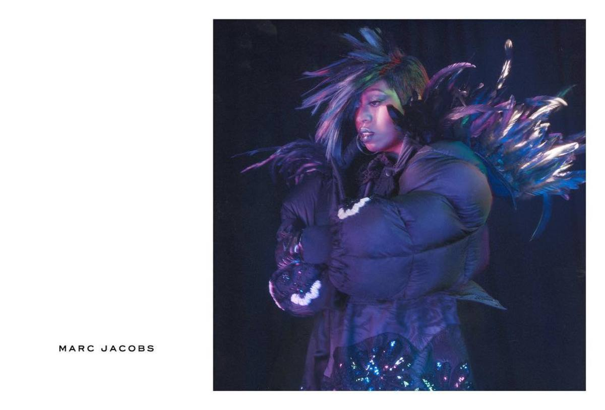 Missy Elliott for Marc Jacobs. Photo: Marc Jacobs
