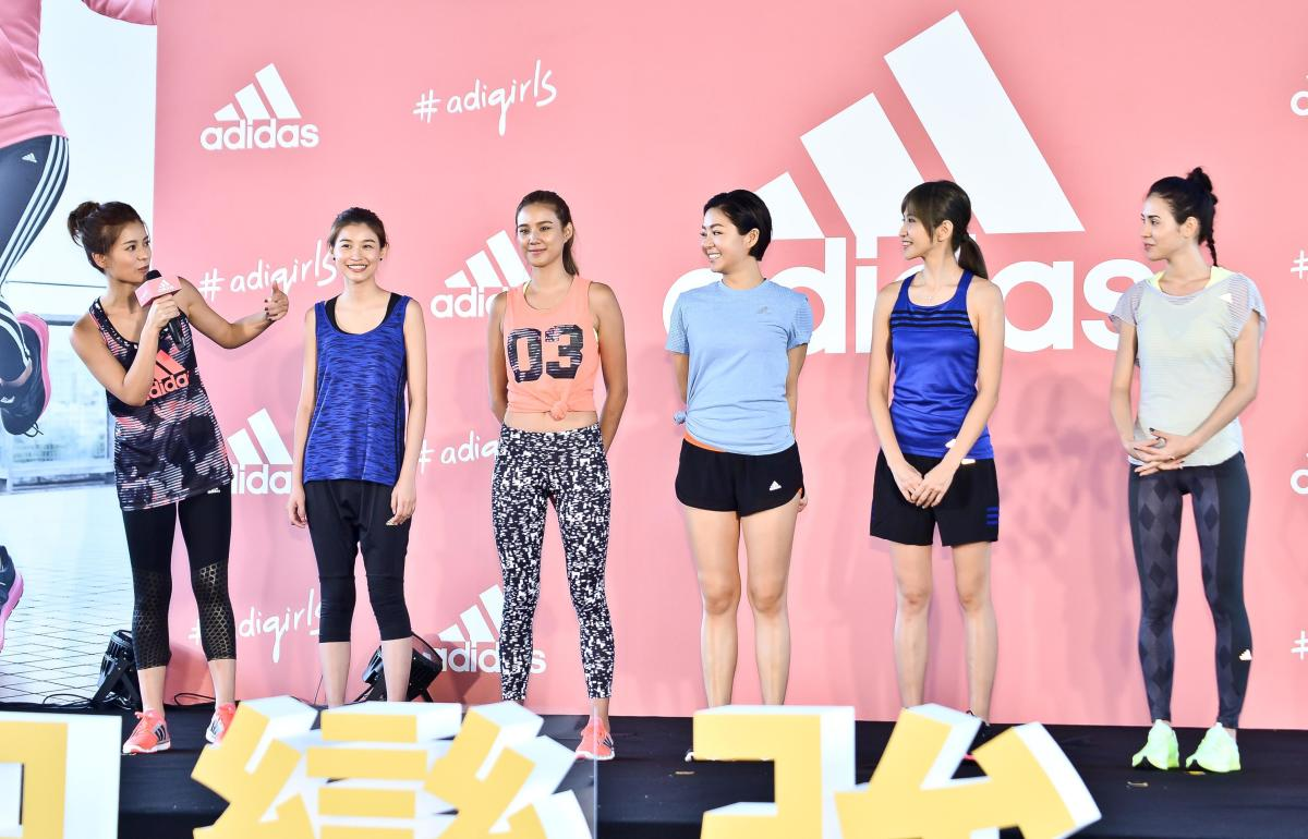 An Adidas #adigirls promotional event in Taipei, Taiwan. Photo by TPG/Getty Images