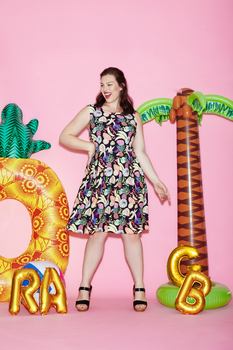 A look from Rachel Antonoff's collaboration with Gwynnie Bee. Photo: Courtesy