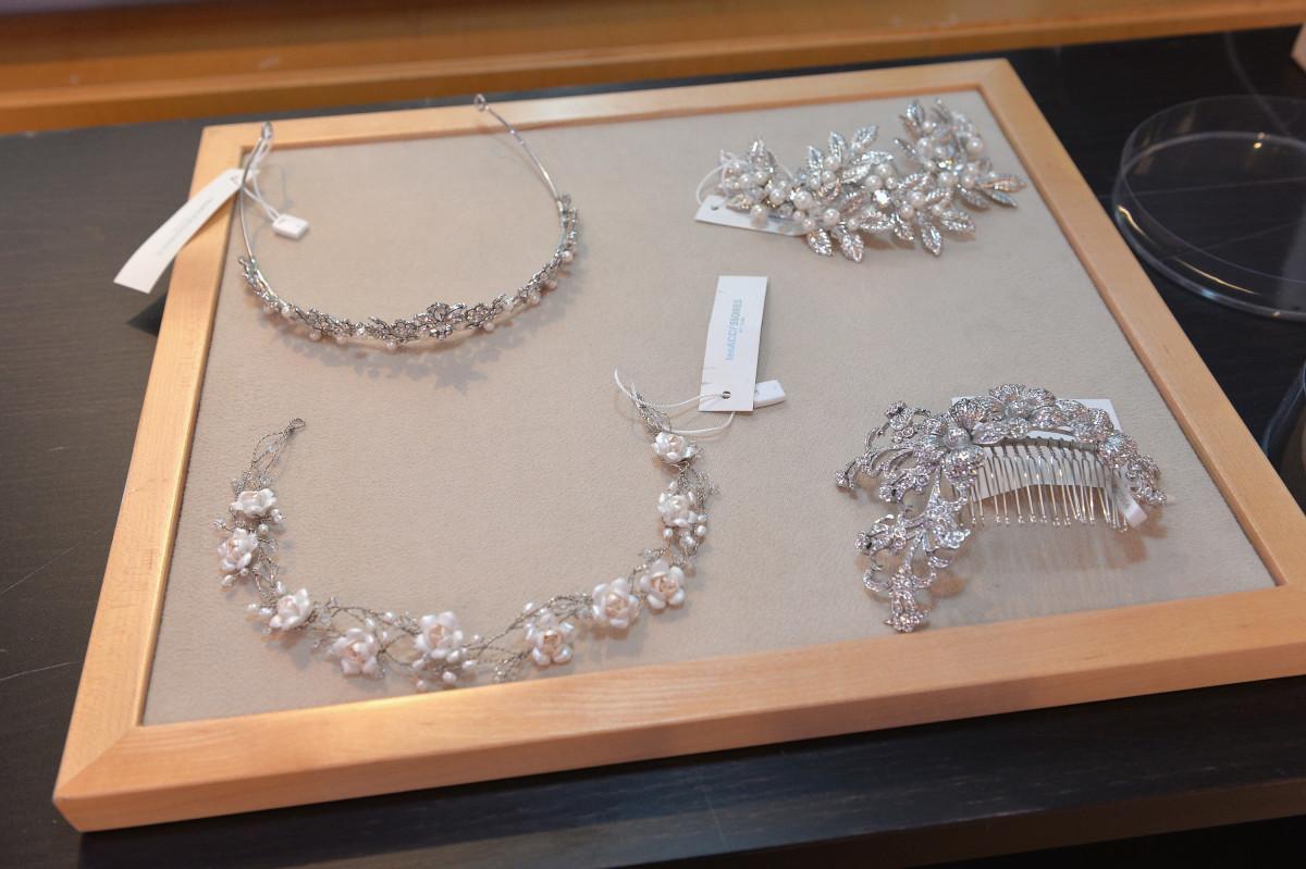 Stylist Micaela Erlanger's chosen accessories. Photo: Pronovias