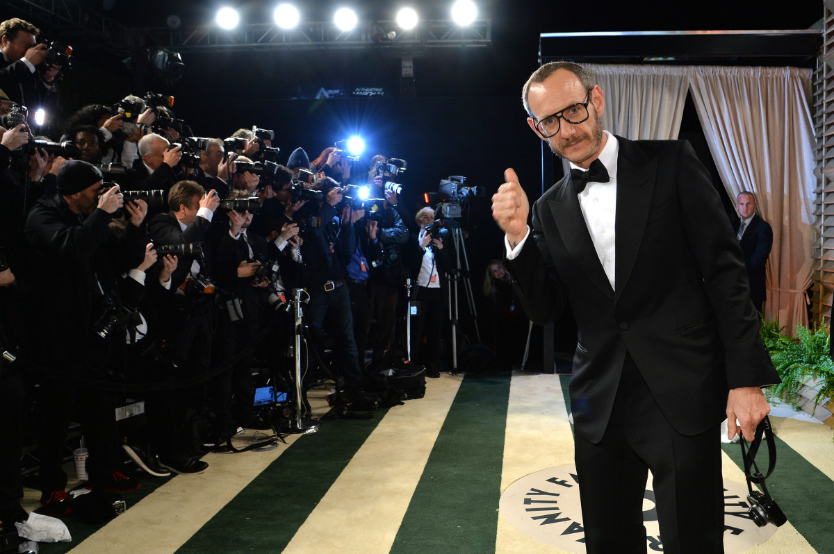 "Terry Richardson at the 2014 ""Vanity Fair"" Oscar Party. Photo: Larry Busacca/Getty Images"