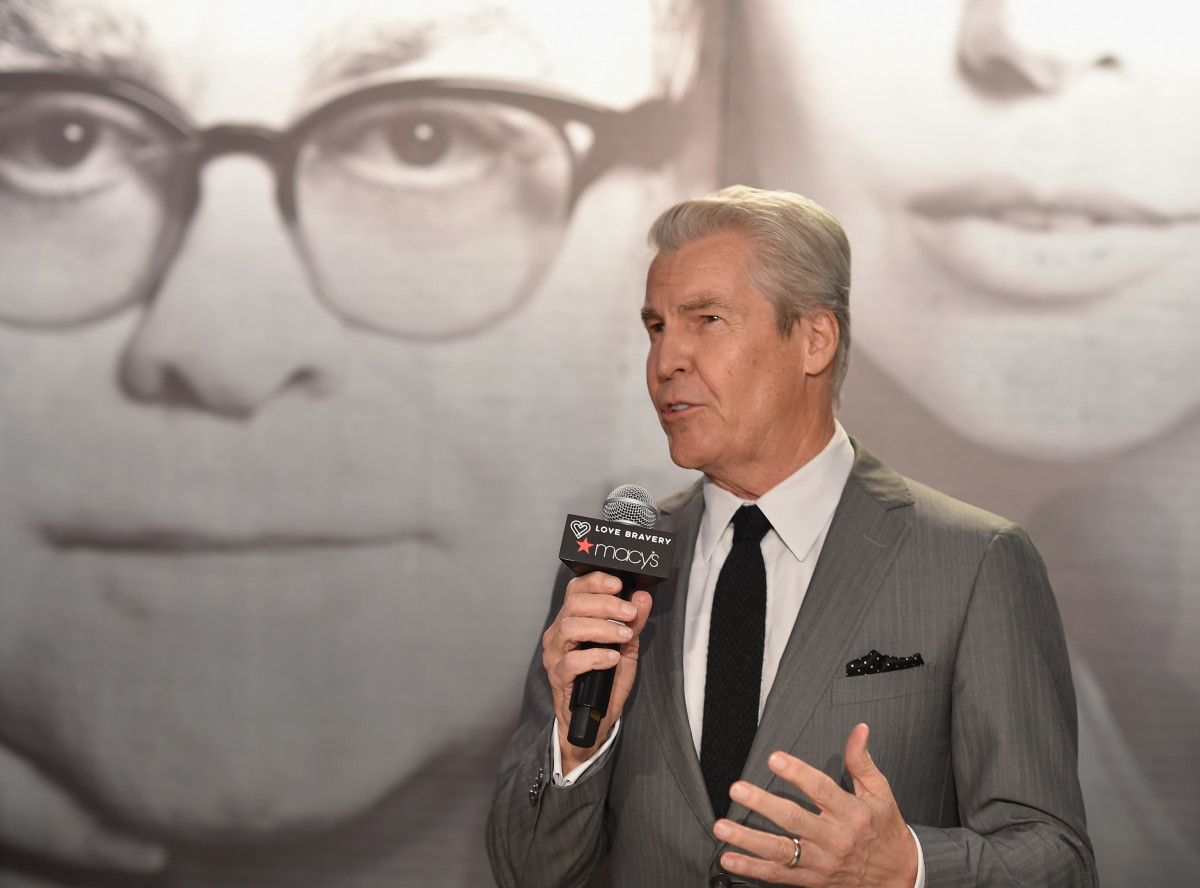 Terry Lundgren at the Love Bravery by Lady Gaga and Elton John Launch at Macy's Herald Square in New York City. Photo: Dimitrios Kambouris/Getty Images