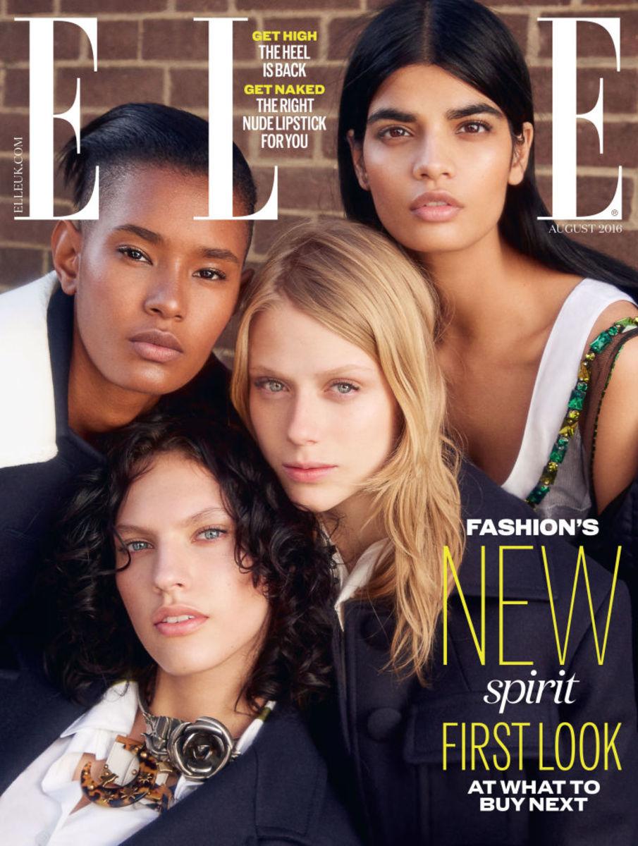 The winning cover of Elle UK's reader poll. Photo: Elle UK
